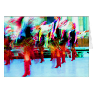 Cartão Dançarinos ucranianos