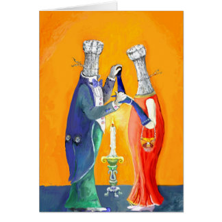 Cartão dancing* dos *Bottles