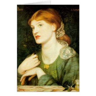 Cartão Dante Gabriel Rossetti- o galho