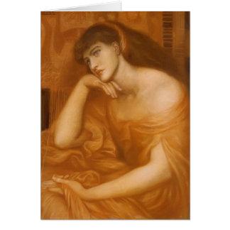 Cartão Dante Gabriel Rossetti: Penélope