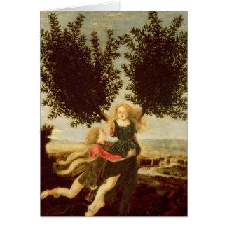 Cartão Daphne e Apollo, c.1470-80