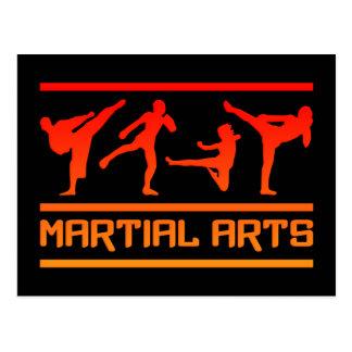 Cartão das artes marciais - personalize!