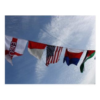 Cartão das bandeiras