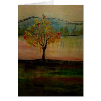 Cartão das belas artes