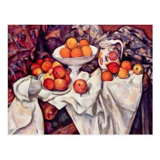 Cartão das belas artes de Cezanne