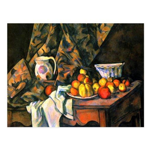 Cartão das belas artes de Cezanne Cartoes Postais
