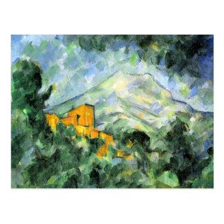 Cartão das belas artes de Cezanne Cartão Postal