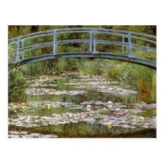 Cartão das belas artes de Claude Monet Cartão Postal
