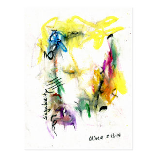 Cartão das belas artes do Singularity Cartão Postal