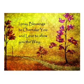 Cartão das bênçãos