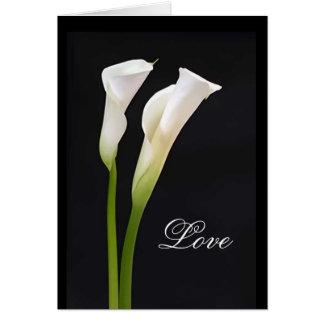 Cartão das bênçãos do casamento