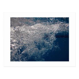 Cartão das bolhas de ar