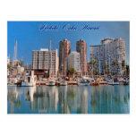 Cartão das cenas de Honolulu Cartoes Postais