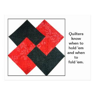 Cartão das citações do bloco da edredão