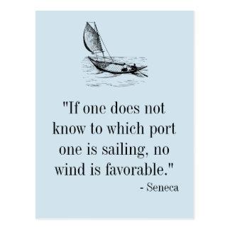 Cartão das citações do Seneca
