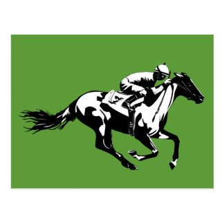 Cartão das corridas de cavalos