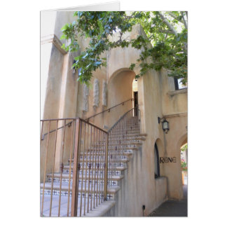 Cartão das escadas de Sedona