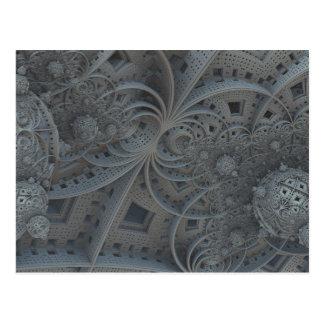 cartão das esferas do fractal