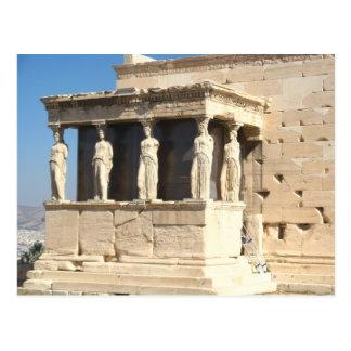 Cartão das estátuas