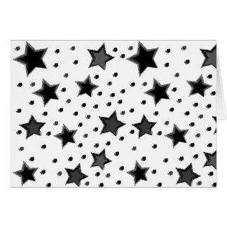 cartão das estrelas