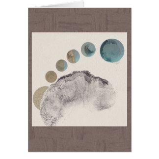 Cartão das fases (marrom) (vertical)