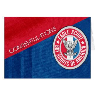 Cartão das felicitações de Eagle Scout