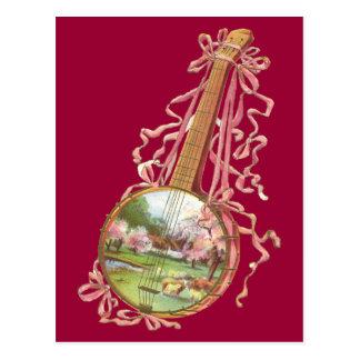 Cartão das fitas do banjo
