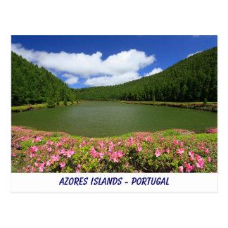 Cartão das ilhas de Açores