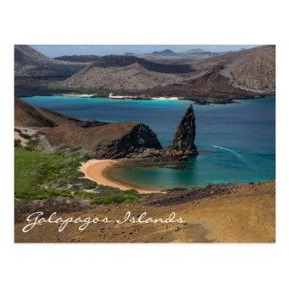 Cartão das Ilhas Galápagos