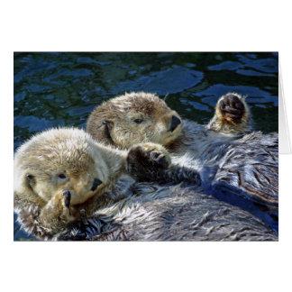 cartão das Mar-lontras