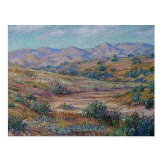 Cartão das montanhas de San Gabriel