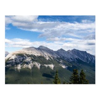 Cartão das montanhas rochosas