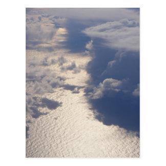 Cartão das nuvens (design 4)
