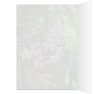 Cartão das orquídeas