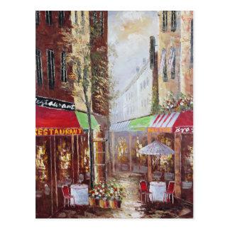 Cartão das ruas de France