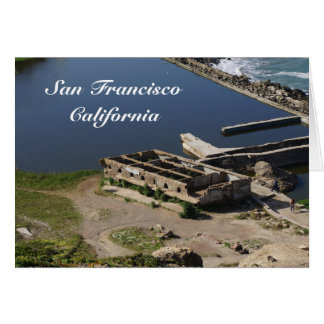 Cartão das ruínas #2 dos banhos de San Francisco