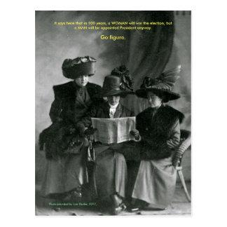 Cartão das senhoras da resistência