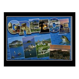 Cartão das viagens vintage da piscina olá! da