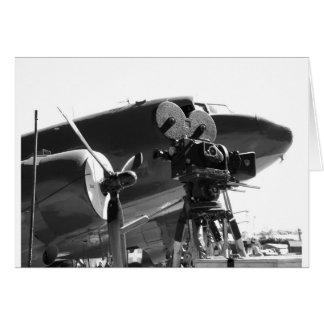 Cartão DC3 com câmera de filme