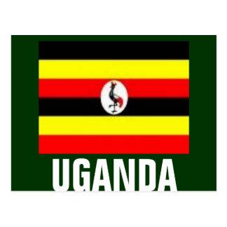 cartão de #1 uganda