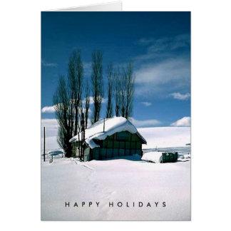 Cartão de 2005 feriados para filmes da flor