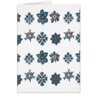 Cartão de 2009 feriados - o deixe nevar -