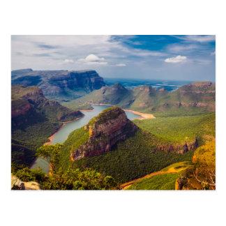 Cartão de África do Sul Cartão Postal
