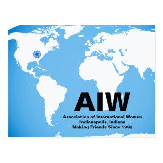 Cartão de AIW com estrela