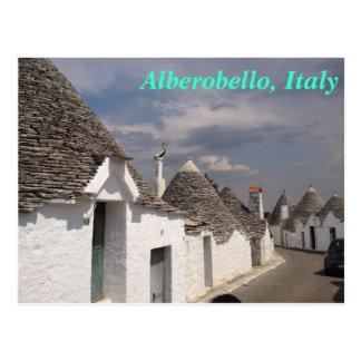 Cartão de Alberobello