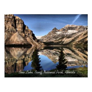 Cartão de Alberta do parque nacional de Banff do