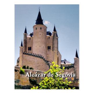 Cartão de Alcázar de Segovia