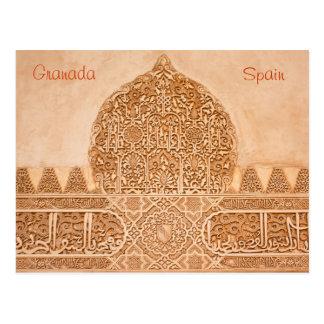 Cartão de Alhambra Granada