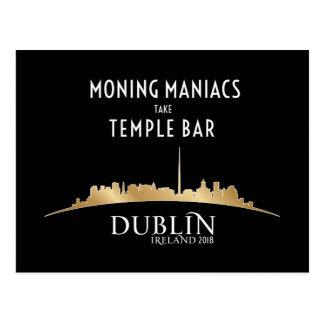 Cartão de alta tensão oficial de Dublin