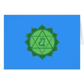 Cartão de Anahata Chakra